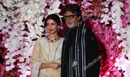 Editorial image of Wedding reception of Akash Ambani in Mumbai, India - 10 Mar 2019
