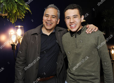 John Ortiz and son