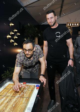 Omid Abtahi, Pablo Schreiber
