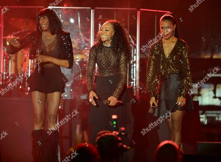 Rhona Bennett, Terry Ellis and Cindy Herron of En Vogue