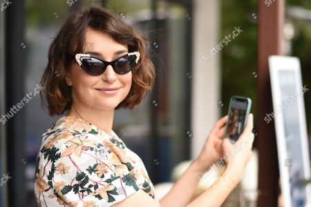 Milana Vayntrub attends the Vision Council 3-Day Eye Health event held at The Jane Club during SXSW in Austin, TX