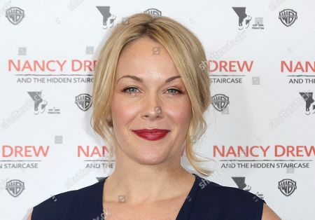 """Stock Photo of Andrea Anders arrives at the World Premiere of """"Nancy Drew and the Hidden Staircase"""" at the AMC Century City 15, in Los Angeles"""