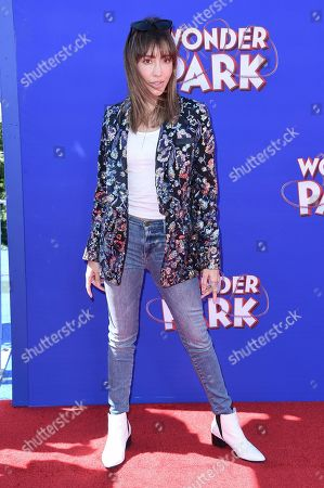 "Fernanda Romero attends the LA premiere of ""Wonder Park"" at the Regency Village Theatre, in Los Angeles"