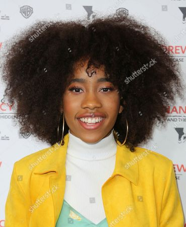 """Zoe Renee arrives at the World Premiere of """"Nancy Drew and the Hidden Staircase"""" at the AMC Century City 15, in Los Angeles"""