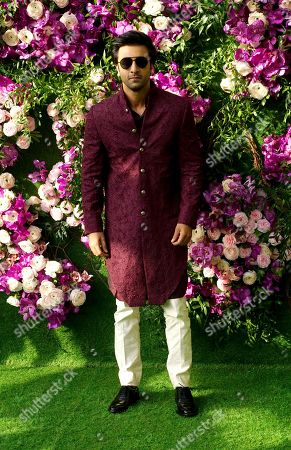 Editorial image of Akash Ambani and Shloka Mehta Wedding, JIO World Centre, Mumbai, India - 10 Mar 2019