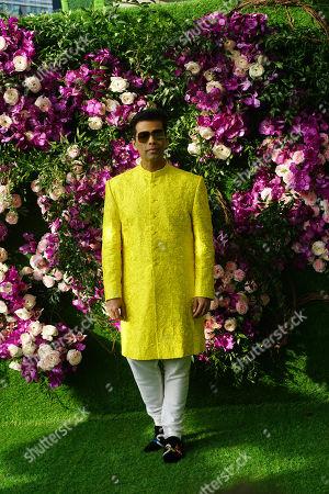 Bollywood filmmaker Karan Johar