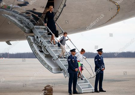 Editorial picture of Trump, Andrews Air Force Base, USA - 10 Mar 2019