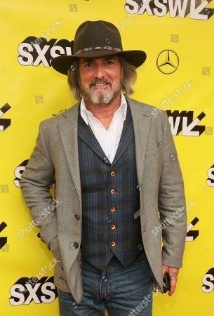 "John Fusco arrives for the world premiere of ""The Highwaymen"" at the Paramount Theatre during the South by Southwest Film Festival, in Austin, Texas"
