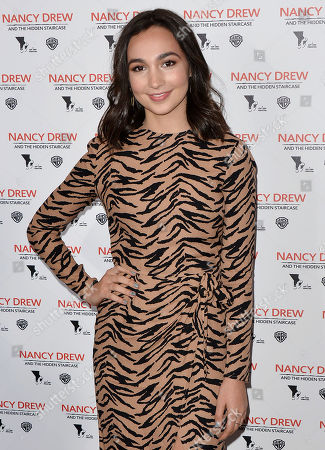 Editorial photo of 'Nancy Drew and the Hidden Staircase' film premiere, Los Angeles, USA - 10 Mar 2019