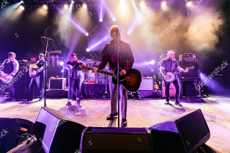 Editorial photo of Flogging Molly in concert, The Fillmore, Detroit, USA - 09 Mar 2019