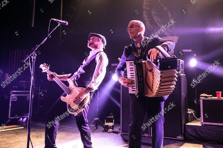 Editorial image of Flogging Molly in concert, The Fillmore, Detroit, USA - 09 Mar 2019