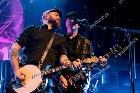 Editorial picture of Flogging Molly in concert, The Fillmore, Detroit, USA - 09 Mar 2019