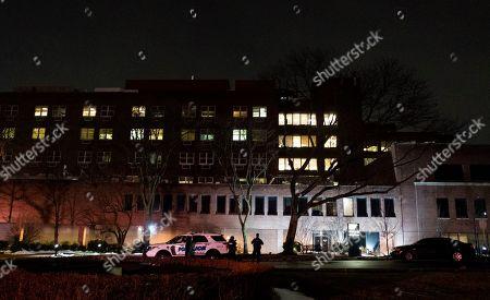 Shooting Presbyterian Lawrence Hospital Bronxville Stock Photos