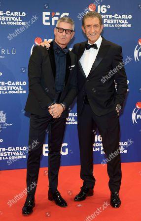 Giorgio Restelli and Ezio Greggio