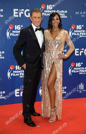 Juliana Moreira and Ezio Greggio