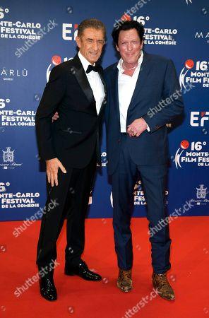Ezio Greggio and Michael Madsen