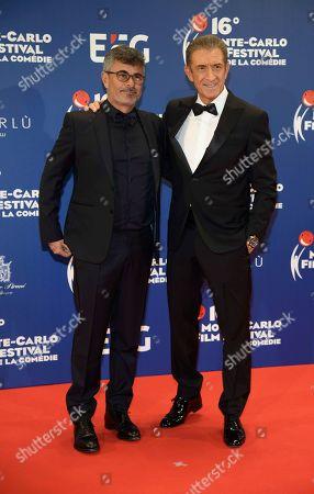 Ezio Greggio and Paolo Genovese