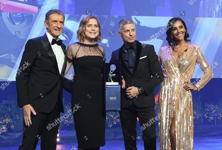 Ezio Greggio, Nicole Palo, Giorgio Restelli, Juliana Moreira