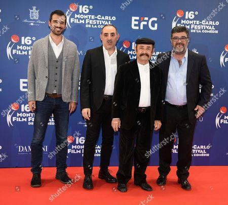 Francesco Pannofino, Benito Urgu, Jacopo Cullin, Paolo Zucca