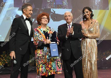 Ezio Greggio, Andrea Ferreol, Juliana Moreira