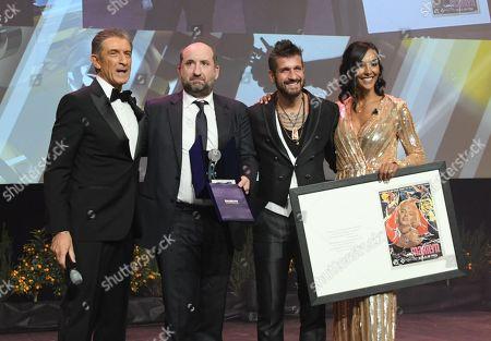 Ezio Greggio, Antonio Albanese, Juliana Moreira, Edoardo Stoppa