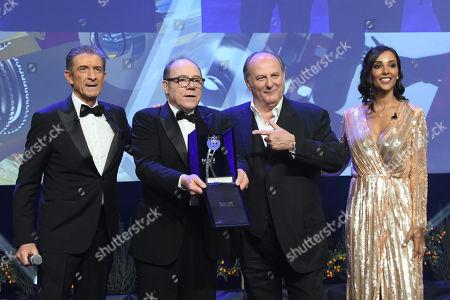 Ezio Greggio, Carlo Verdone, Gerry Scotti, Juliana Moreira