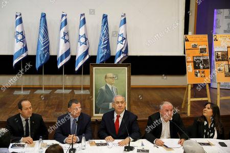 Editorial picture of Benjamin Netanyahu election campaign, Jerusalem, Israel - 11 Mar 2019