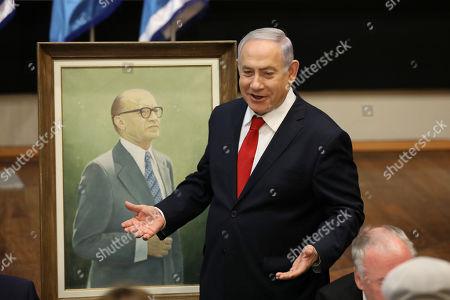Editorial image of Benjamin Netanyahu election campaign, Jerusalem, Israel - 11 Mar 2019