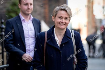 """Labour MP Yvette Cooper leaves the Center for European Reform in Westminster after delivering a speech on the """"next steps"""" for the Brexit process. MPs will get a second 'meaningful vote' on Prime Minister Theresa May's proposed Brexit deal tomorrow."""