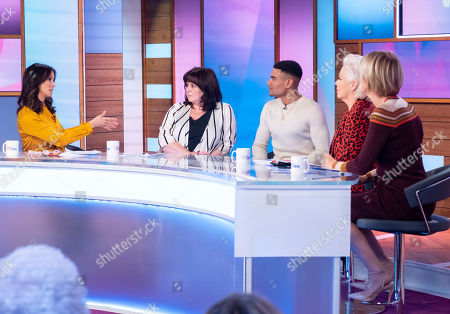 Andrea McLean, Coleen Nolan, Wes Nelson, Denise Welch and Jane Moore