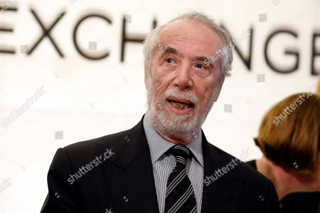 Stock Image of Sotheby's Chairman Domenico De Sole is photographed on the floor of the New York Stock Exchange