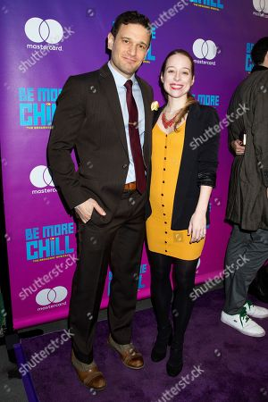 Editorial picture of 'Be More Chill' Broadway Opening Night, New York, USA - 10 Mar 2019