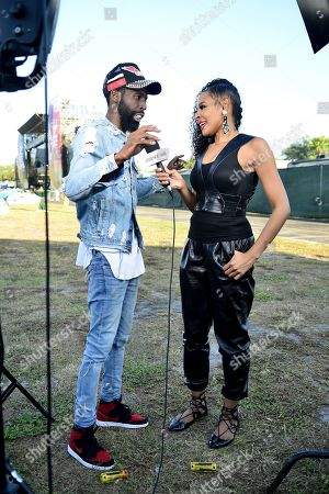 Stock Image of Tye Tribbett and Janell Snowden
