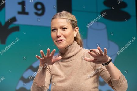 Gwyneth Paltrow speaks at the Austin Convention Center