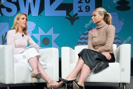 CNN's Poppy Harlow and Gwyneth Paltrow
