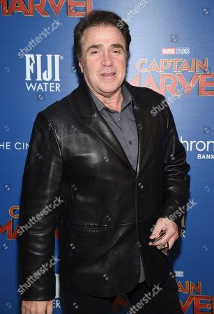 """Michael Rispoli attends a special screening of """"Captain Marvel"""", hosted by The Cinema Society, at the Henry R. Luce Auditorium, in New York"""