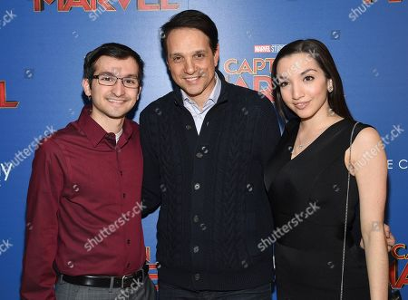 "Editorial picture of NY Special Screening of ""Captain Marvel"", New York, USA - 06 Mar 2019"