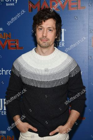 """Christian Coulson attends a special screening of """"Captain Marvel"""", hosted by The Cinema Society, at the Henry R. Luce Auditorium, in New York"""