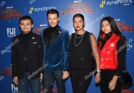 "Editorial photo of NY Special Screening of ""Captain Marvel"", New York, USA - 06 Mar 2019"