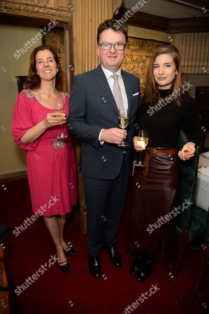 Stock Image of Nicky Carter, Ewan Venters and Nettie Wakefield