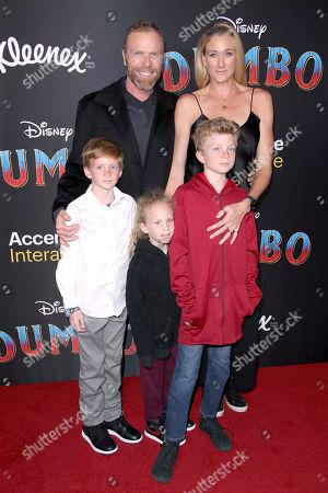 Kerri Walsh Jennings and family