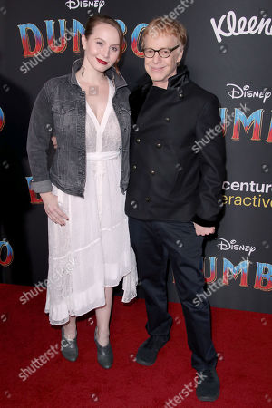 Mali Elfman and Danny Elfman