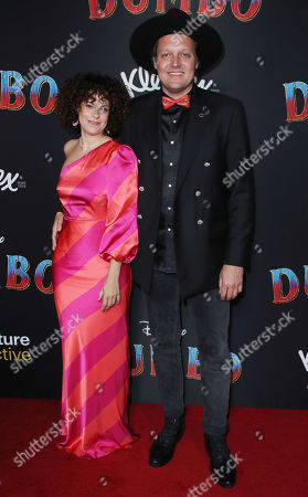 Stock Picture of Regine Chassagne and Win Butler
