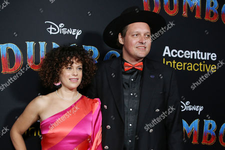Stock Photo of Regine Chassagne and Win Butler