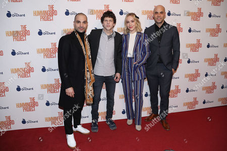 Editorial photo of New York Special Screening of 'The Hummingbird Project', USA - 11 Mar 2019