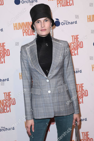 Editorial picture of New York Special Screening of 'The Hummingbird Project', USA - 11 Mar 2019