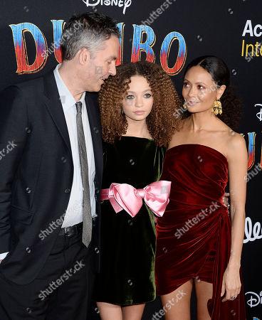 Ol Parker, Nico Parker, Thandie Newton