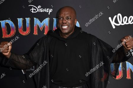 "DeObia Oparei attends the LA premiere of ""Dumbo"" at the Dolby Theatre, in Los Angeles"