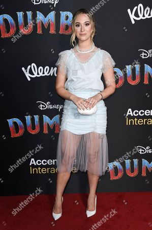 "Alisha Marie attends the LA premiere of ""Dumbo"" at the Dolby Theatre, in Los Angeles"