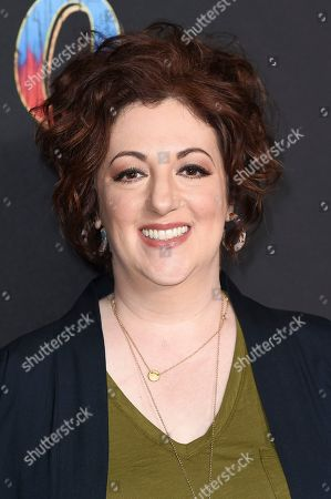 """Rebecca Metz attends the LA premiere of """"Dumbo"""" at the Dolby Theatre, in Los Angeles"""